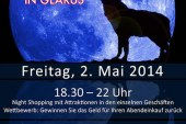 Night Shopping 2. Mai 2014 in Glarus