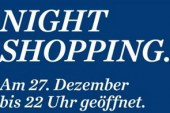 Nightshopping, 27. Dezember 2014 in St. Gallen