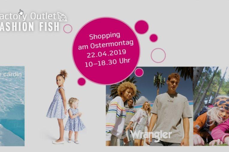 Ostermontag Fashion Fish Schoenenwerd offen