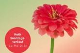 Sonntagsverkauf, Muttertag am 12. Mai 2019
