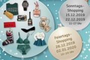 Öffnungszeiten,Berchtoldstag, 2. Januar 2019