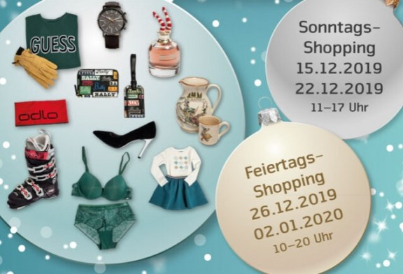 Einkaufen am Stephanstag, 26. Dezember 2019 in der Schweiz