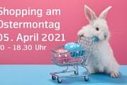 Einkaufen am Ostermontag, 5. April 2021