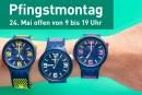 Shopping und Einkaufen am Pfingstmontag, 24. Mai 2021